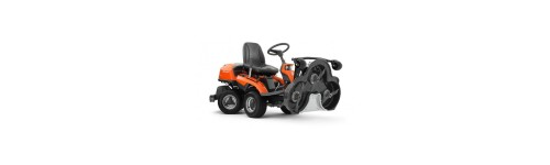 Tracteurs tondeuses plateau frontal (rider)
