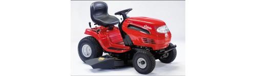 Tracteurs tondeuses avec éjection latérale et/ou mulching